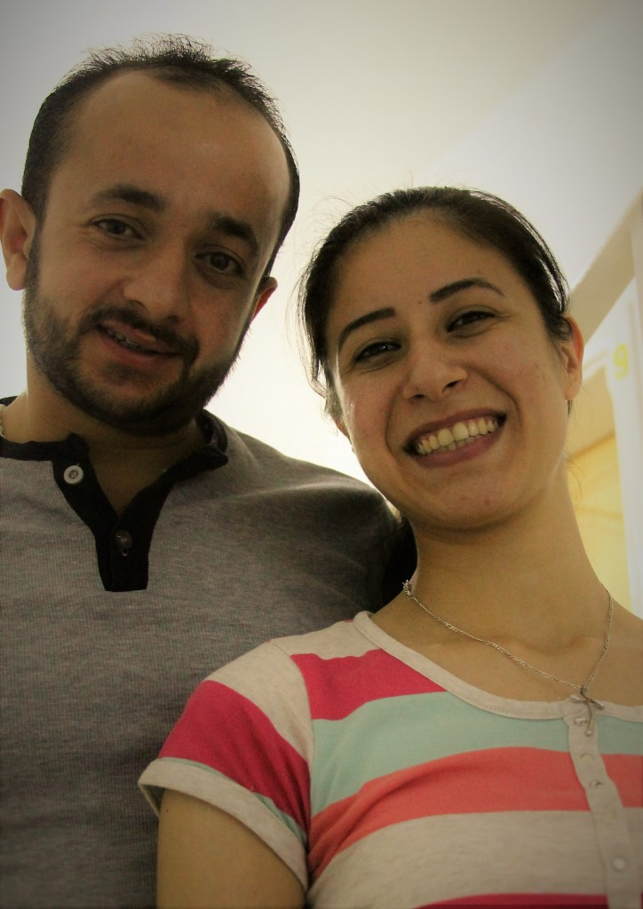 """Their wedding plans were stopped by terror, but their love prevailed. """"We don't give up"""""""