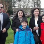 A Syrian family that found a way out