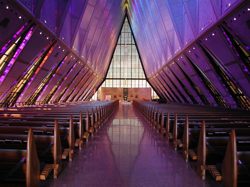 AFA Chapel, photo by D. Rupert