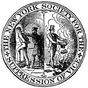 Society for the Suppression of Vice