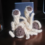 His Noodly Appendage, Now in Yarn Form
