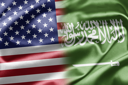 AmericanSaudiFlags
