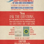 Upcoming Debate at the Midtown Scholar