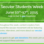 Secular Students Week 2015: How to Win at Activism