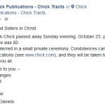 Jack Chick's Cowardly Evangelism