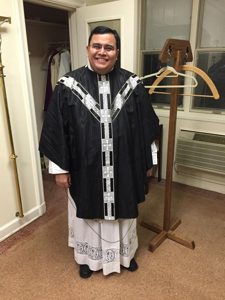 Black Vestments For All Souls Updated