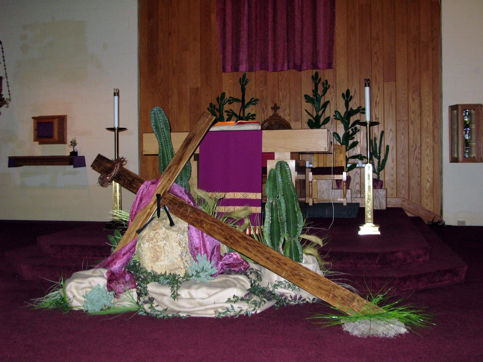 Altar Ed States Liturgical Decoration For Lent