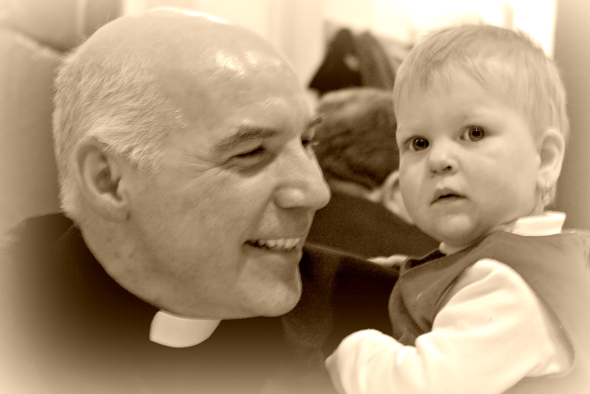 """Here is a happy priest"""": homily for a priest's 25th"""