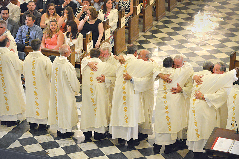 Ordination update: 19 new deacons for New Orleans