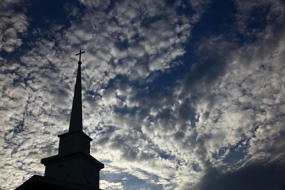 800px-Sky-church-steeple_-_West_Virginia_-_ForestWander