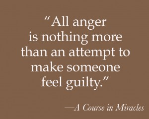 All anger is nothing more