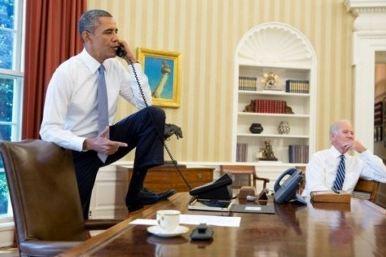 Obama feet