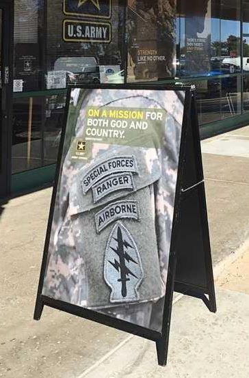 armysign