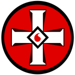 """KKK"" by KAMiKAZOW. Licensed under CC BY 2.5 via Wikimedia Commons - https://commons.wikimedia.org/wiki/File:KKK.svg#/media/File:KKK.svg"