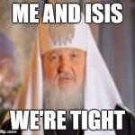 Russian Orthodox Leader Blames The Gay for ISIS