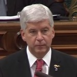 Snyder Lies About Responsibility for Flint Water Poisoning