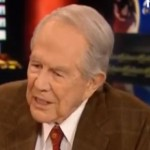 Pat Robertson Kicks It Old School Wingnut