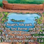 Josh Rosenau Hits Nail on Head on the Ark Park