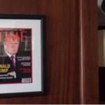 Trump Has Literal Fake News on Golf Club Walls