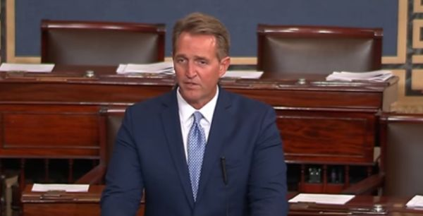 Sen. Jeff Flake: 'No president will ever have dominion over objective reality'
