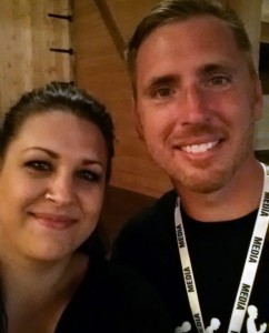 Me and Eric Hovind. Had to get a picture with him.