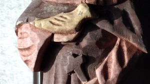 bird in hand of saint 2