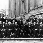 The official photograph from the 1927 Solvay Conference in Belgium. The greatest collection of brilliant minds ever assembled up to then, and up to present. (Courtesy Flickr/Ted Buracas
