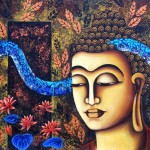 Buddha and Ananda: Sit by the side of your Mind to be meditative