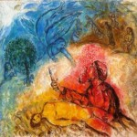 The Sacrifice of Isaac 1966 Marc Chagall