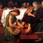 Jesus Washing Peter's Feet, by Ford Madox Brown, 1876