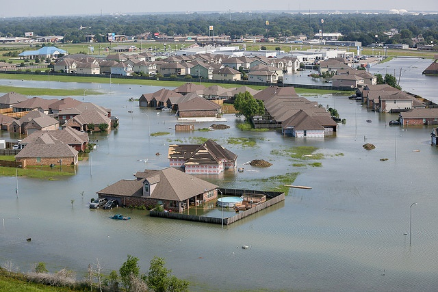 Flooding after Hurricane Harvey in Port Arthur, Texas. (U.S. Air National Guard photo by Staff Sgt. Daniel J. Martinez). Public domain.