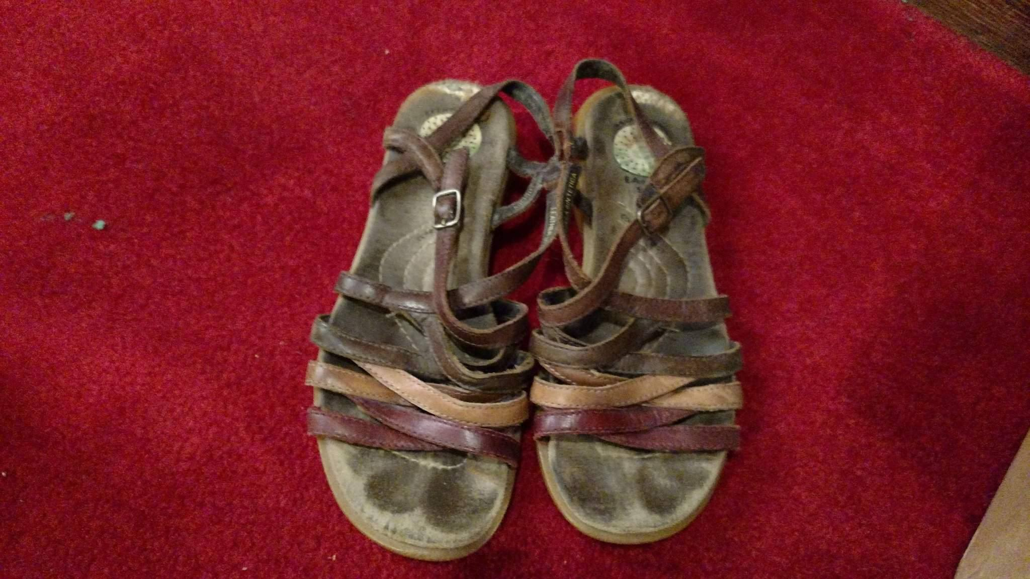 """Ninevite sandals"" Photo credit: Leah D. Schade. All rights reserved."