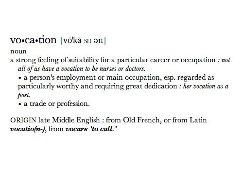 """""""Vocation."""" Photo by Terrance Heath. Some rights reserved. www.flickr.com"""