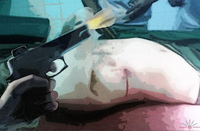 """""""Shot"""" AK Rockefeller. Some rights reserved. flickr.com"""