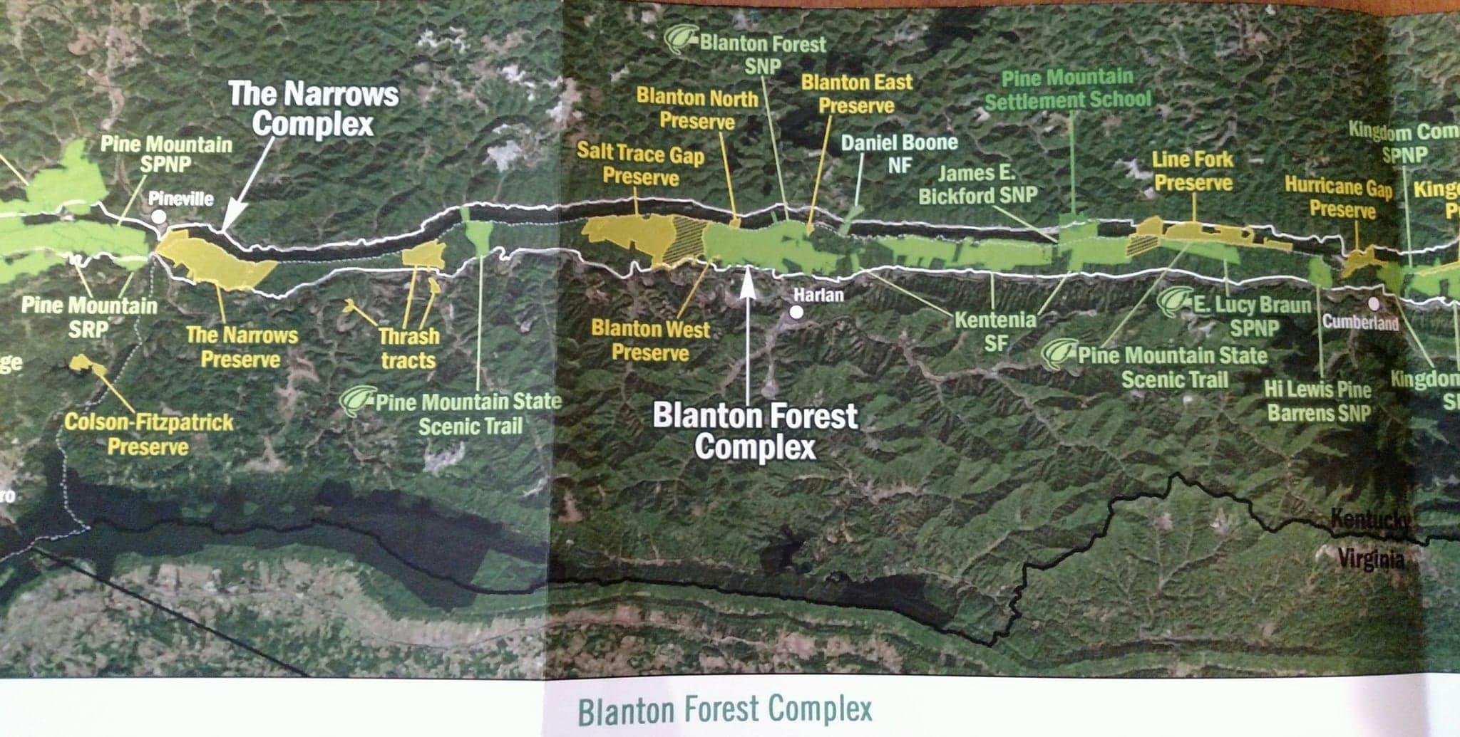 Blanton Forest Preserve, Pine Mountain, Kentucky