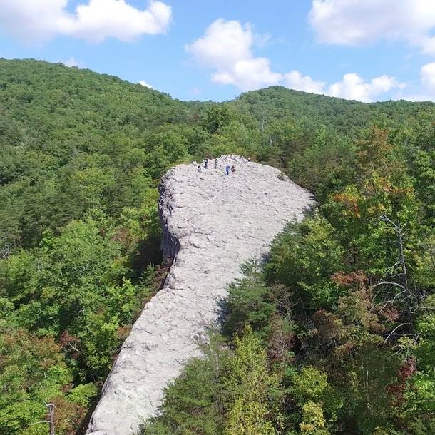 Knobby Rock at Pine Mountain, Ky. Photo credit: Bill Lancaster. Used with permission.