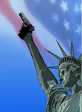 """""""America: Land of the Gun."""" Image by Alan Cleaver. Some rights reserved. flickr.com"""