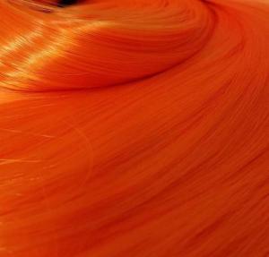 orange doll hair
