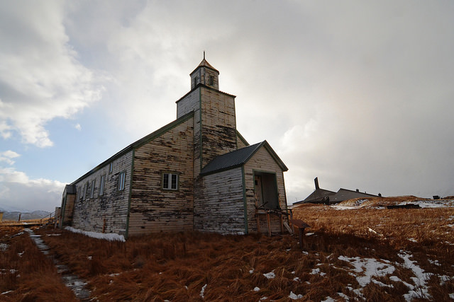 Abandoned church. Photo by Paxson Woelber. Some rights reserved. www.flickr.com