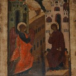 The Theotokos came to me through the Word #Annunciation