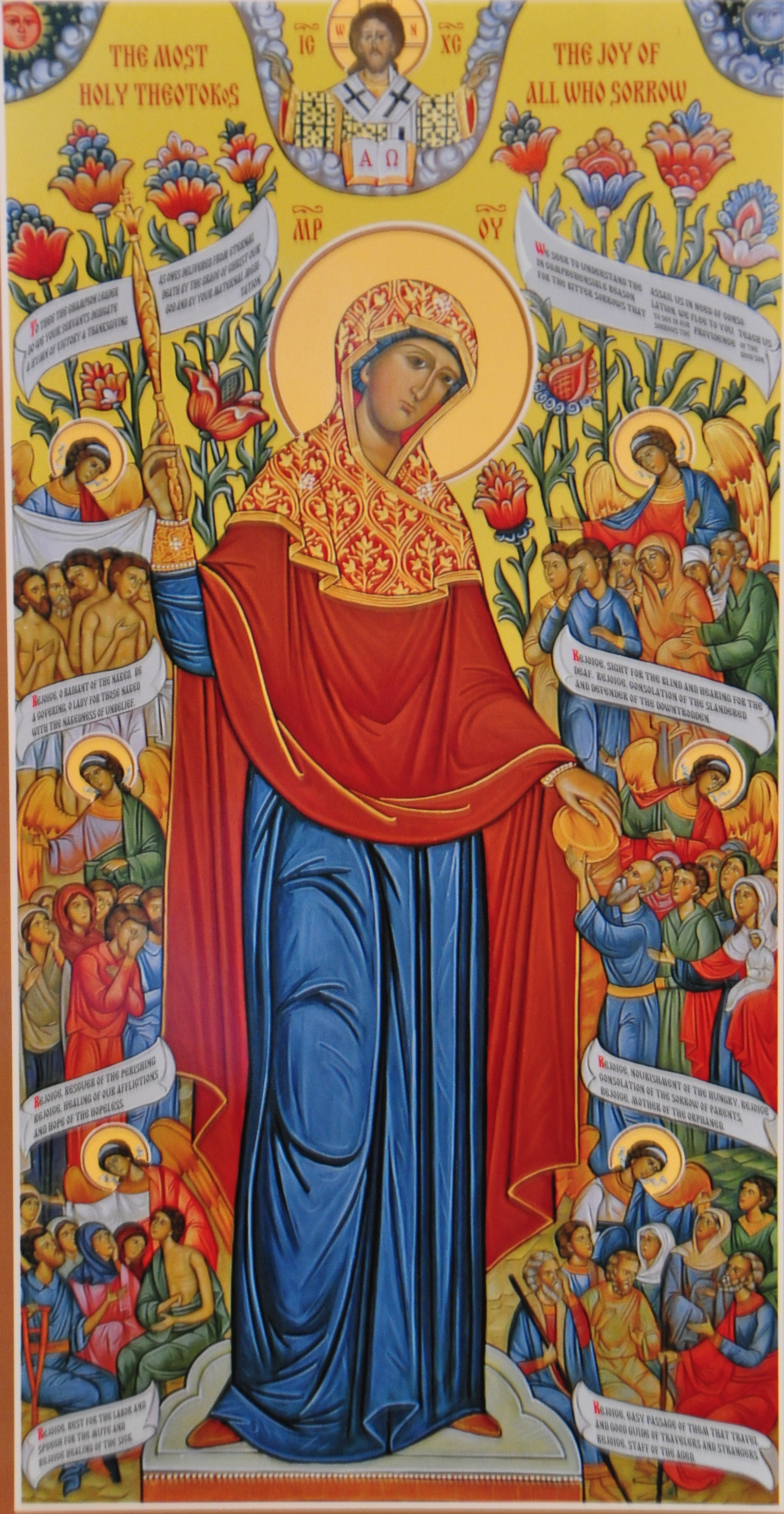 Theotokos Joy of All Who Sorrow Icon - by Ted, 28 Oct 2013 (10545663816_73d530c424_o.jpg) (CC BY-SA 2.0 [https://creativecommons.org/licenses/by-sa/2.0/]), via Flickr