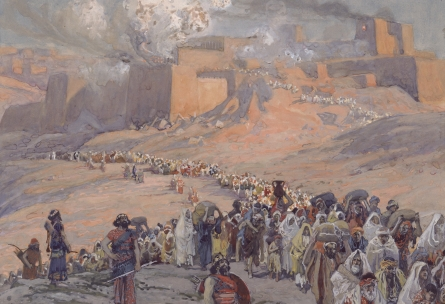 James Tissot, Flight of the Prisoners. Image in the public domain, taken from Wikipedia.