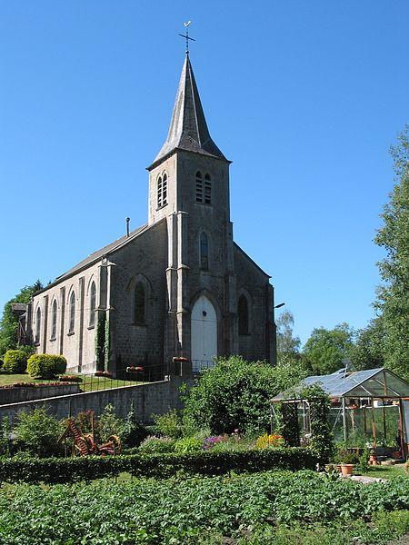 Image by Jean-Pol GRANDAUNT (CC By 3.0) Lompret, (Belgium), the St Nicolas' church (1879)