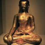 Tibetan Copper Gautama Buddha 14th c.AD