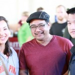Emily Rice, Bruce Reyes-Chow, and Dan Fan (photo by Bill Dahl)