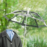 invisible man with an umbrella