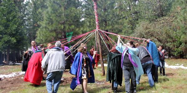 A Beltane Ritual Salute