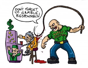 Gambling Addiction as Suburban Slavery