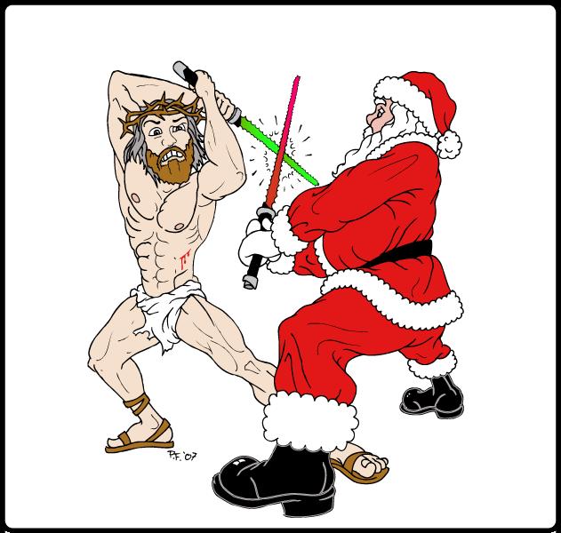 Christmas fuck with santa claus - 5 8