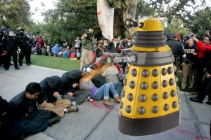 Doctor Who and the Pepper Spraying Daleks